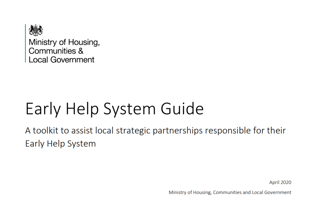 Early Help System Guide